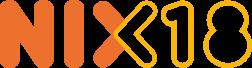 Nix logo Geen 18 geen druppel