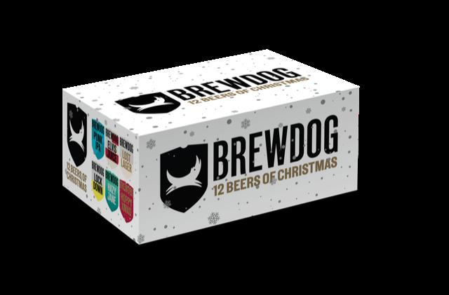 BrewDog 12 Days of christmas cadeauverpakking